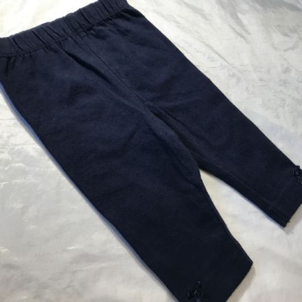 0-3 Month Navy Leggings